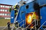 Brandsimulationscontainer Fire Dragon
